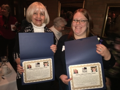 Melissa & Eileen OHC Volunteers fo the Year
